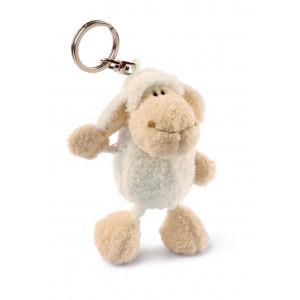Schlüsselanhänger Schaf weiss 10 cm