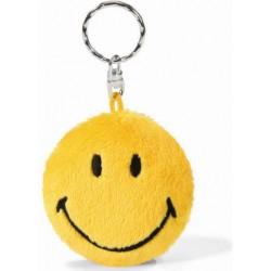 Schlüsselanhänger Smiley gelb 6 cm