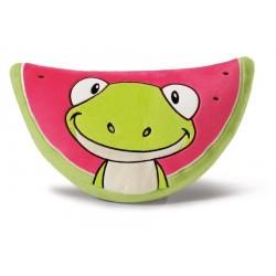 Kissen Wassermelone mit Frosch