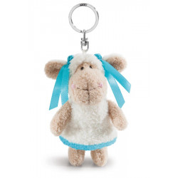 Schlüsselanhänger Schaf Jolly Summer, 10 cm