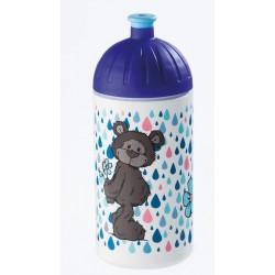 Trinkflasche Bär dunkelbraun 0,5l