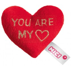 "Love Plüsch-Herz mit Magnet ""YOU ARE MY (HERZ)"""