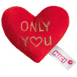 "Love Plüsch-Herz mit Magnet ""ONLY YOU"""