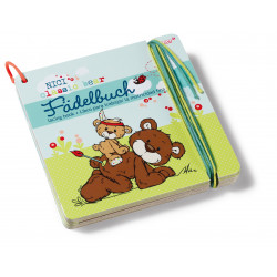 Classic Bear Fädelbuch, 16 x 16 cm