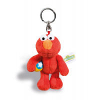Schlüsselanhänger Sesamstrasse Monster Elmo 10 cm