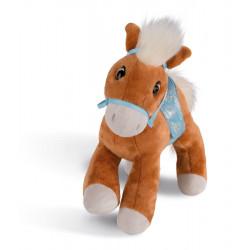Kuscheltier Pferd Leotie mit Zaumzeug und Sattel, 35 cm