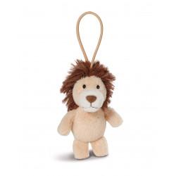 Anhänger Löwe mit elastischer Schlaufe, 8 cm