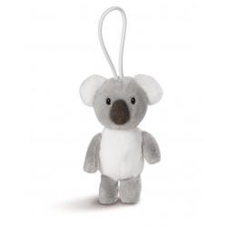 Anhänger Koala mit elastischer Schlaufe, 8 cm