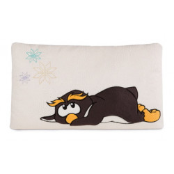 Kissen Pinguin Frizzy, rechteckig