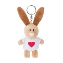"Schlüsselanhänger Hase ""Heart"" Symbol 10cm"
