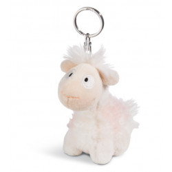 Schlüsselanhänger Lama Baby Cloudi 10cm