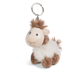 Schlüsselanhänger Lama Baby Floffi 10cm