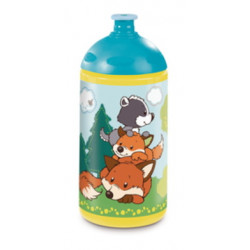 Trinkflasche Forest Friends, 0,5l